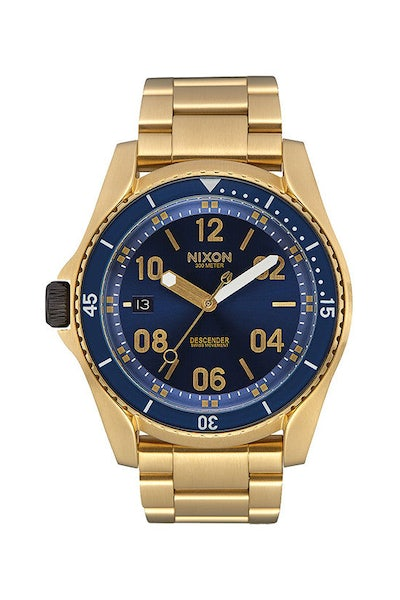Nixon Descender Gold/Blue Sunray
