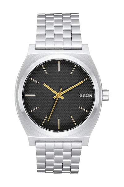 Nixon Time Teller Black Stamped/Gold