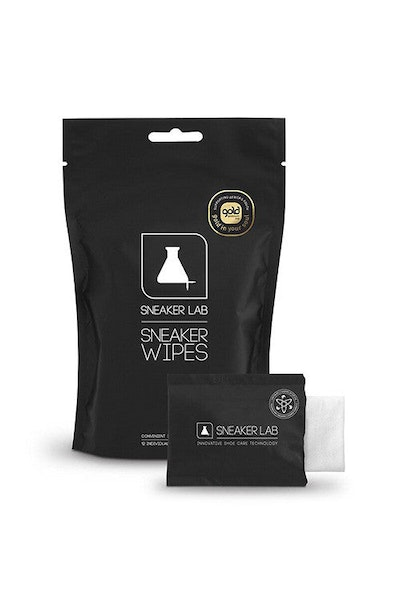 Sneaker Lab Wipes (12 Pack) Black