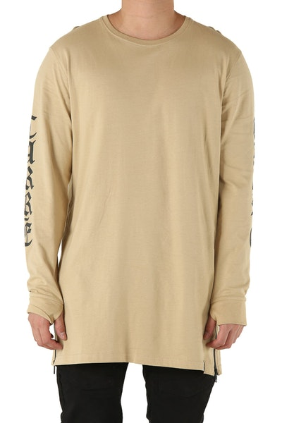 Carré Sanctity Capone 2 Long Sleeve Tee Stone
