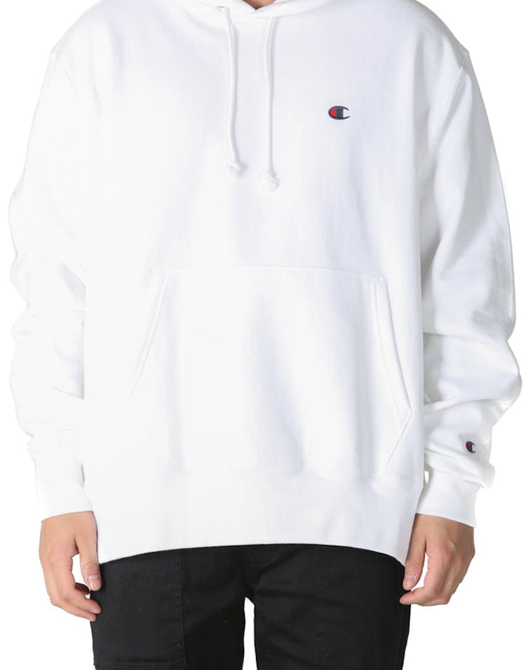 8fdbdf7a42 Champion Reverse Weave Hoodie White – Culture Kings