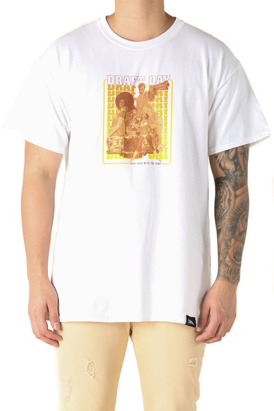 Draft Day Funk Tee White