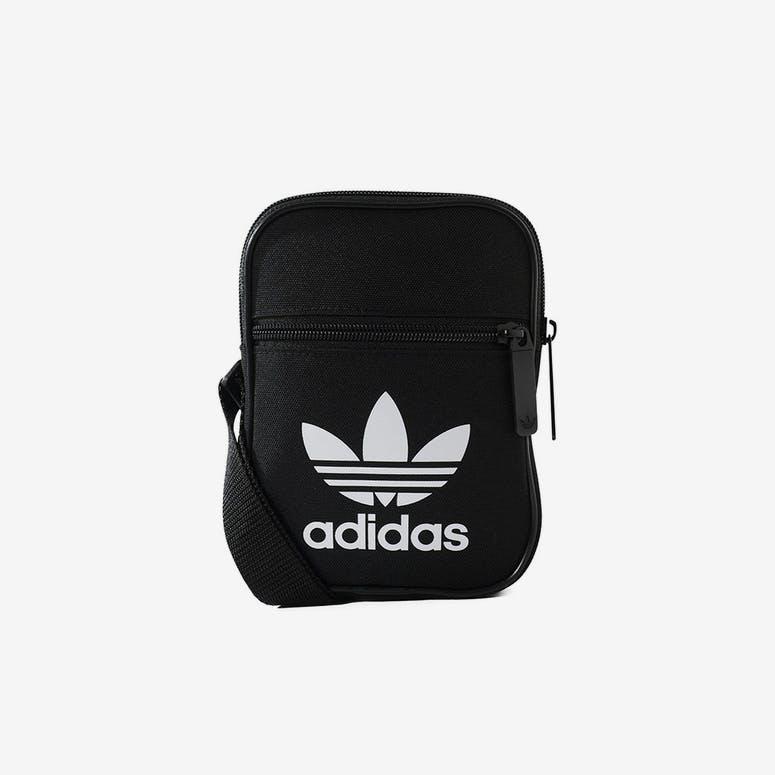 0eb23b3a49 Adidas Trefoil Festival Bag Black White – Culture Kings