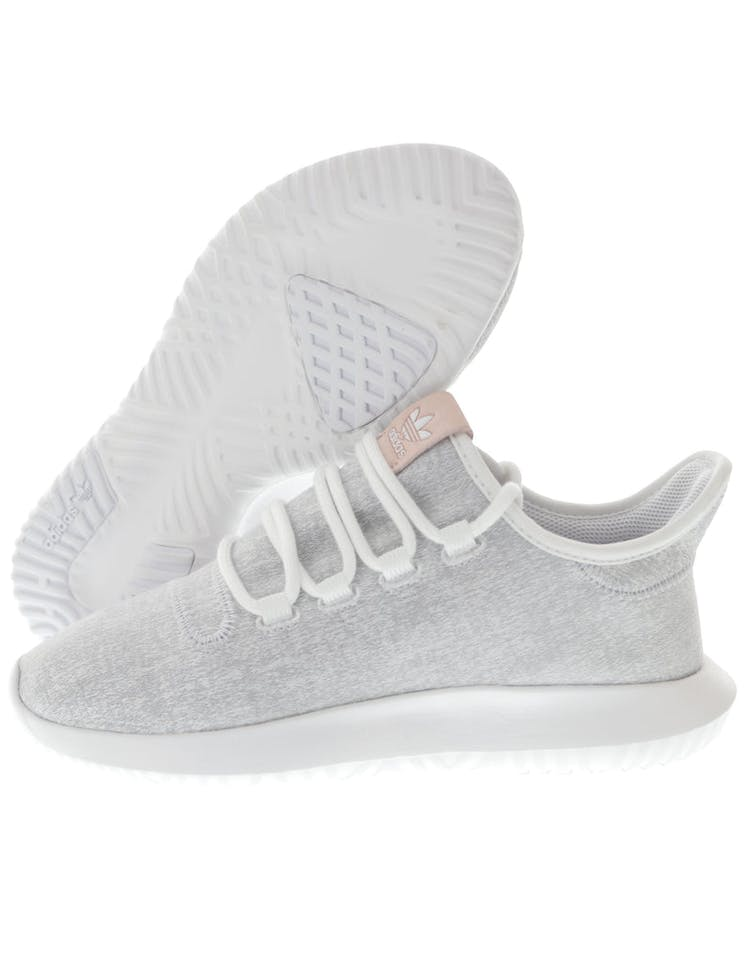 best loved 9fba3 76aa8 Adidas Originals Women's Tubular Shadow White/Grey/White