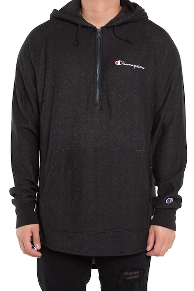 Champion Rev Weave French Terry Hood Black