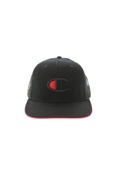 Champion Big C Logo Snapback Black