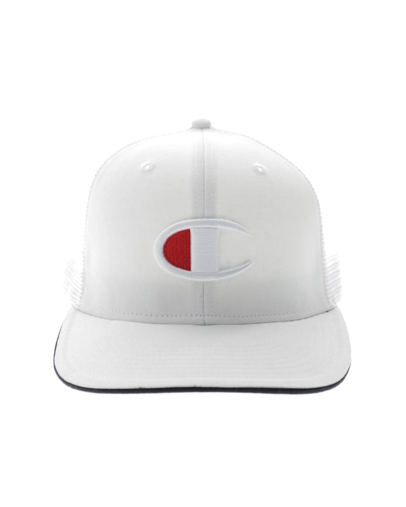 Champion Big C Logo Snapback White
