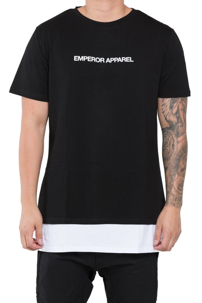 Emperor Apparel Lucca T-Shirt Black