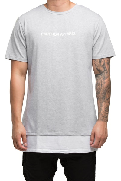 Emperor Apparel Lucca T-Shirt Grey