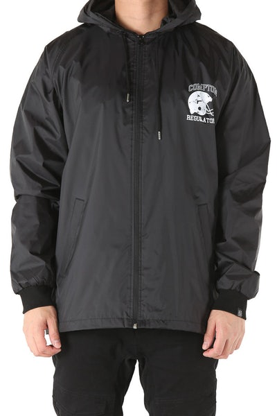 Goat Crew Compton Regulators Wind Breaker Jacket Black