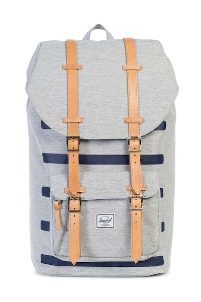 Herschel Bag CO Little America Offset Backpack Grey/Navy