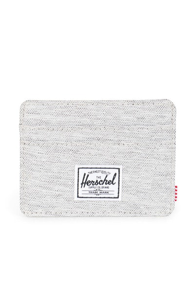 Herschel Supply Co Charlie Crosshatch Wallet Light Grey