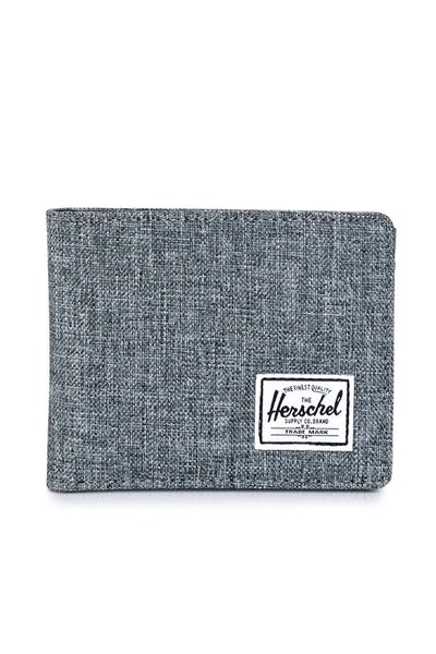 Herschel Supply Co Hank + Coin Crosshatch Charcoal/Black
