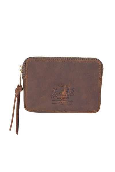 Herschel Supply CO Oxford Leather Pouch Wallet Nubuck