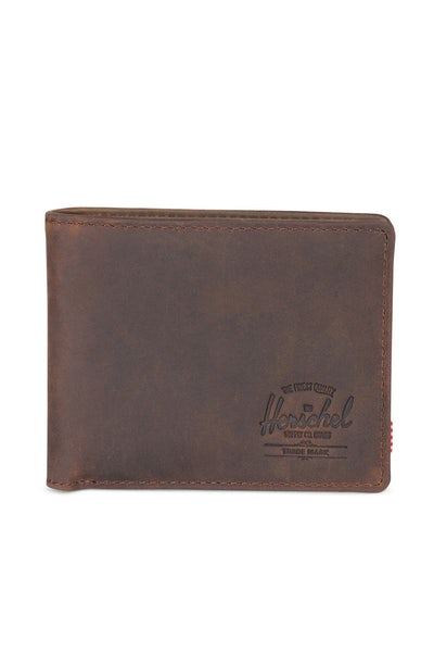 Herschel Supply Co Hank Leather Wallet Nubuck