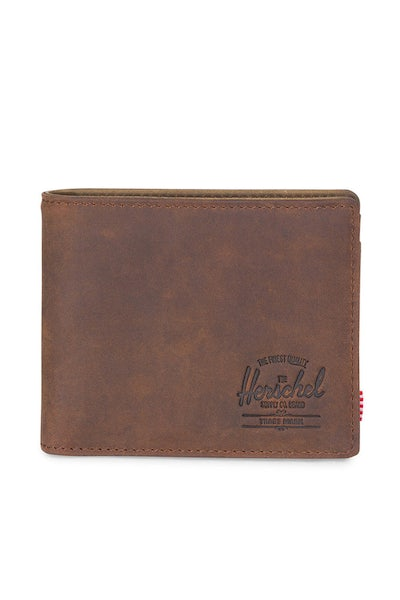 Herschel Supply Co Hank + Coin Leather Wallet Nubuck