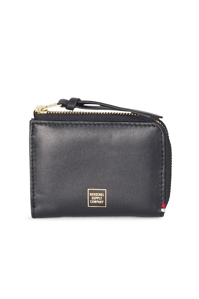 Herschel Supply Co Lamont Napa Wallet Black/Gold