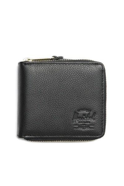 Herschel Supply Co Walt Leather Wallet Black Pebble