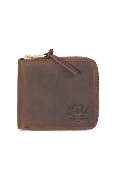 Herschel Supply Co Walt Leather Wallet Nubuck