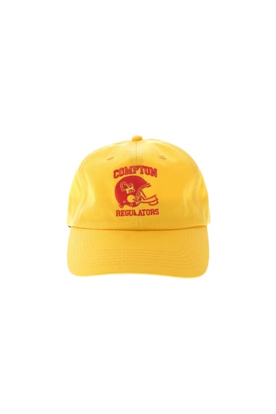 Goat Crew Compton Regulators Strapback Gold