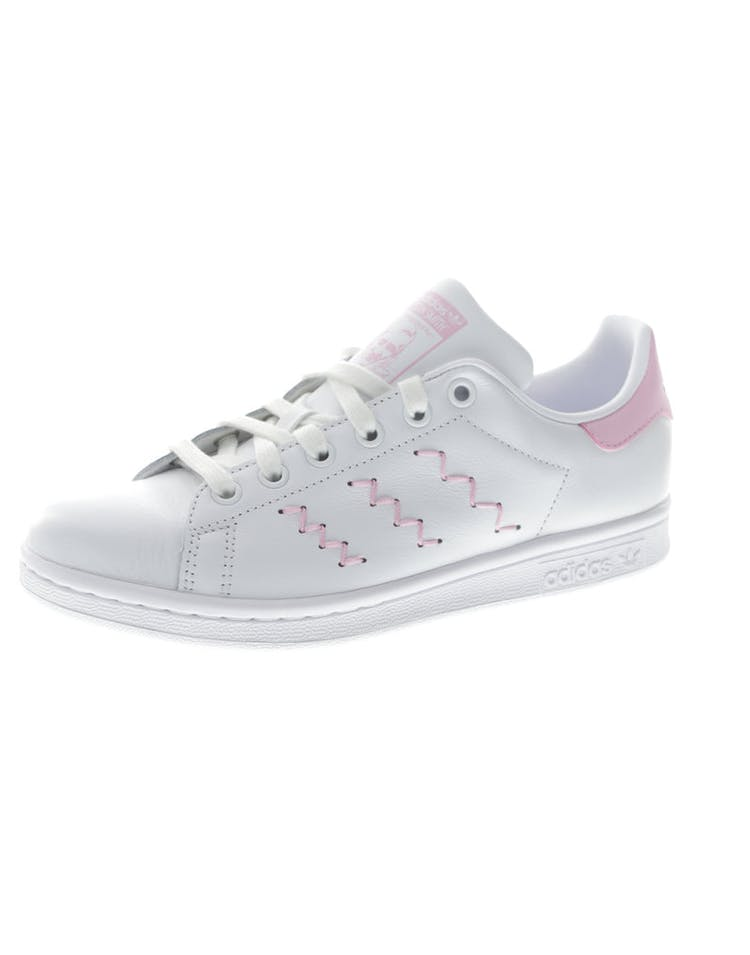 promo code b4a68 6b259 Adidas Originals Women s Stan Smith White Pink   BZ0401 – Culture Kings
