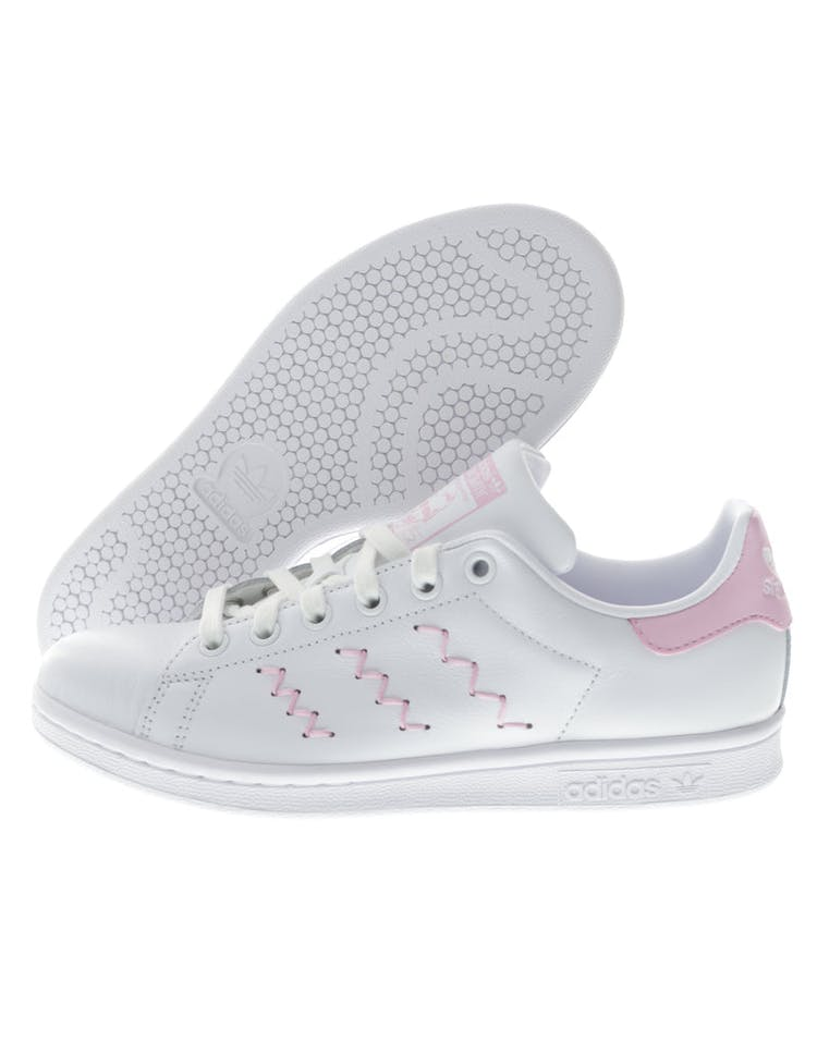 3626bb5153bf Adidas Originals Women's Stan Smith White/Pink | BZ0401 – Culture Kings
