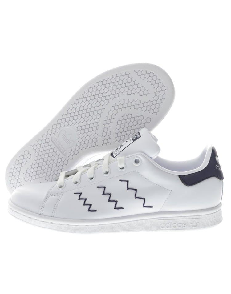 the best attitude 4c217 7b874 Adidas Originals Women's Stan Smith White/Navy
