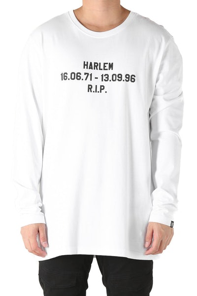 Goat Crew Makaveli Basic Long Sleeve Tee White