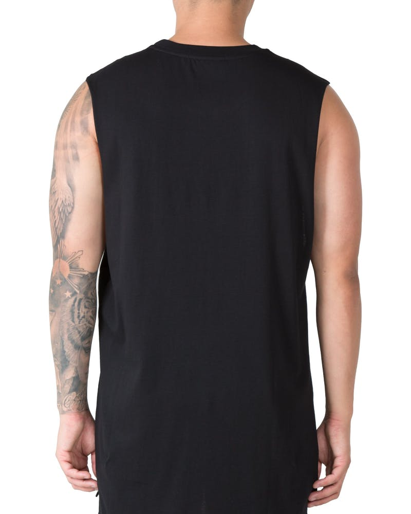 Last Kings Peeking Tut Muscle Tee Black