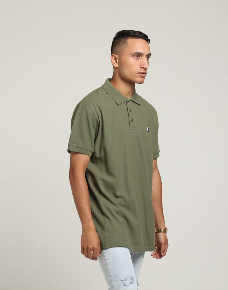 Last Kings Royal SS Polo Leaf Green