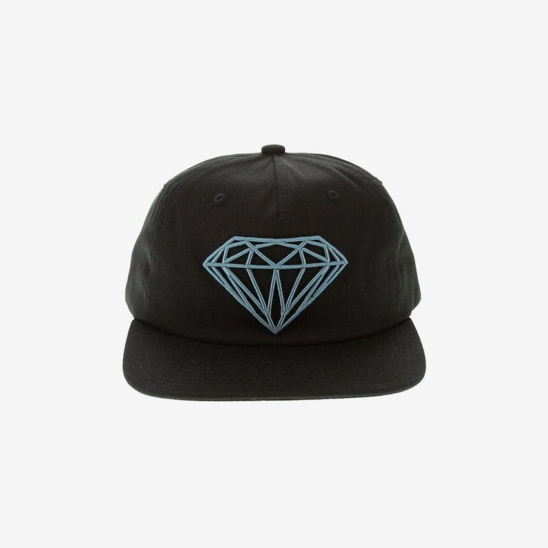 17ff6f06cc4 Diamond Supply Brilliant Unconstructed Snapback Black – Culture Kings