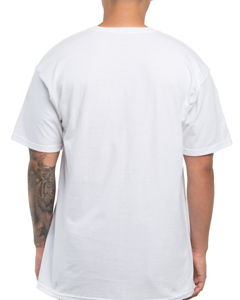 Diamond Supply Circle Logo Tee White