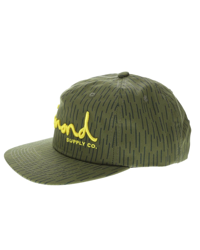Diamond Supply OG Script Deconstructed Snapback Camo