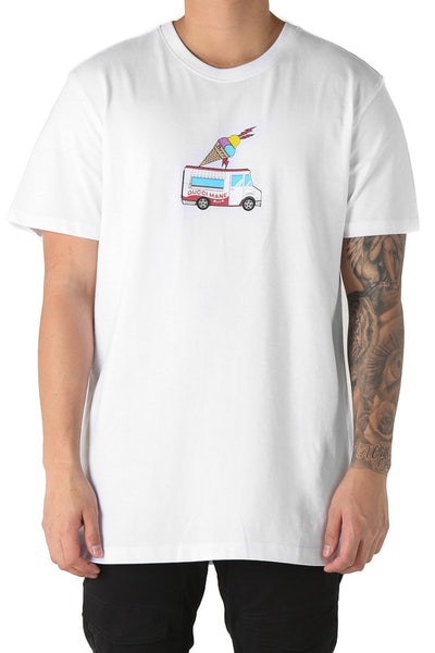 Goat Crew Gucci Cream Tee White