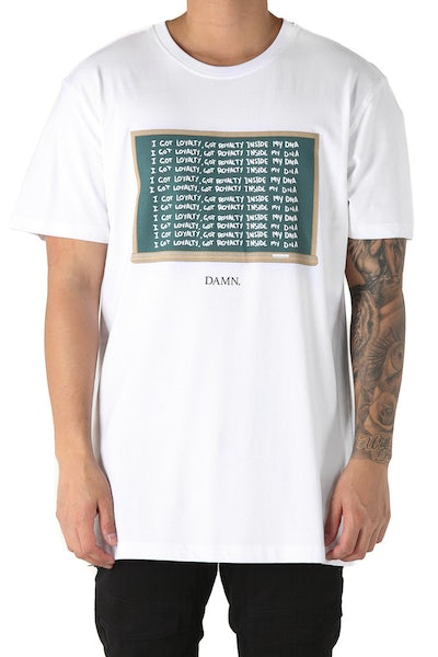 Goat Crew Loyalty Tee White