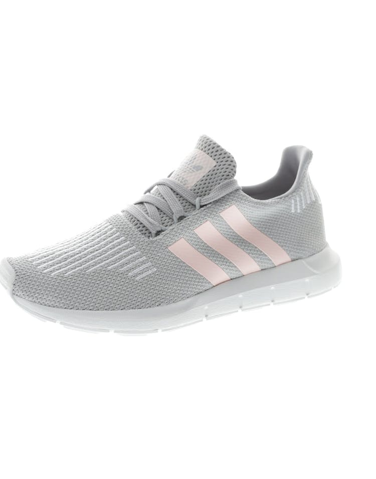 4102e9ce80611 Adidas Originals Women s Swift Run Grey Pink White