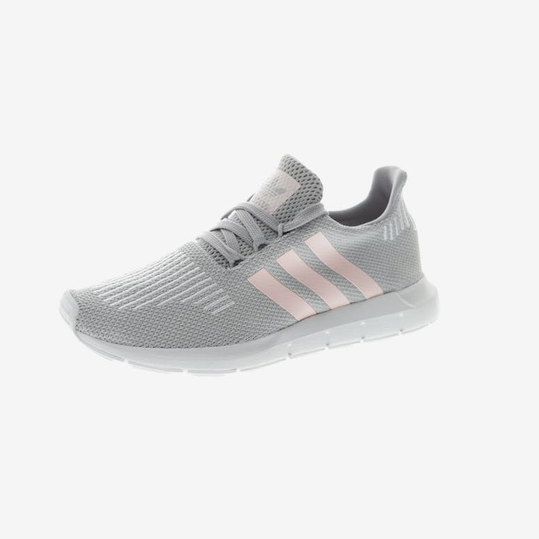4433a109c566 Adidas Originals Women s Swift Run Grey Pink White