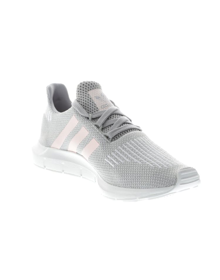 42738da6fac6b Adidas Originals Women s Swift Run Grey Pink White