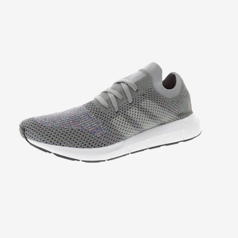 fbf14d974593 Adidas Originals Swift Run Primeknit Grey White Black – Culture Kings