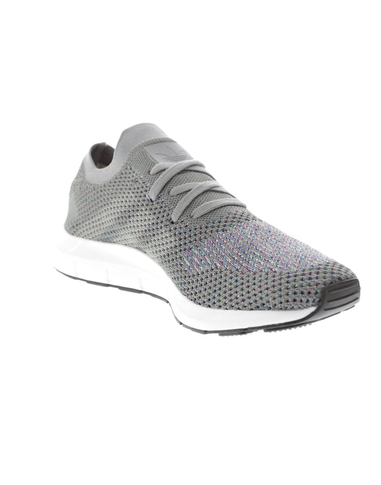 41e1a86c8 Adidas Originals Swift Run Primeknit Grey White Black – Culture Kings