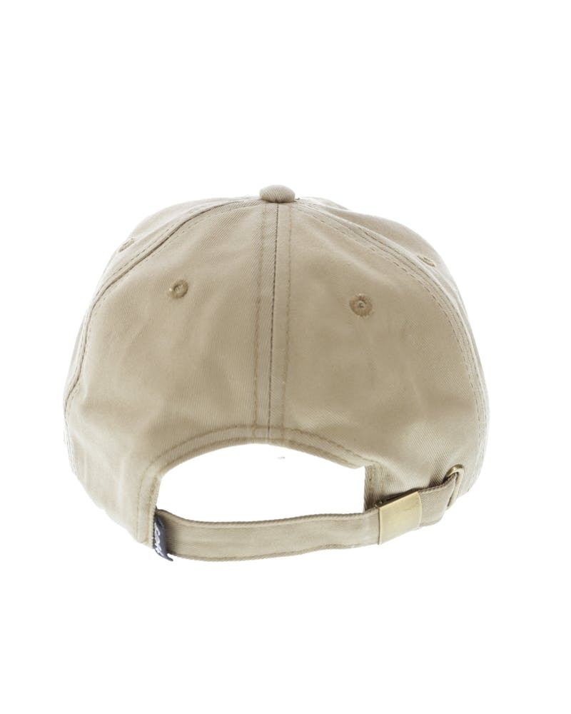 Goat Crew Left Off Strapback Tan