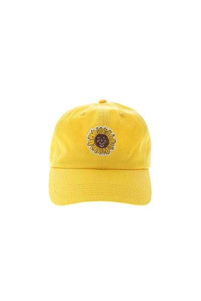 Goat Crew Flower Boy Strapback Gold