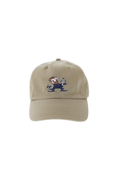 Goat Crew Fightin Irish Strapback Tan