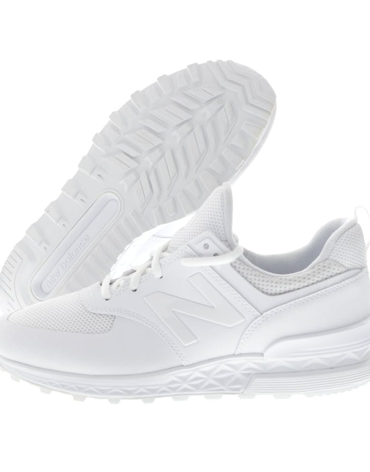 outlet store 38ec3 396a6 New Balance 574 S White/White