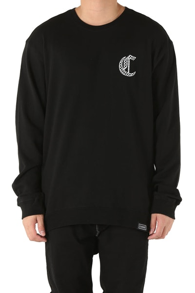 Carré Chain C Crewneck Black