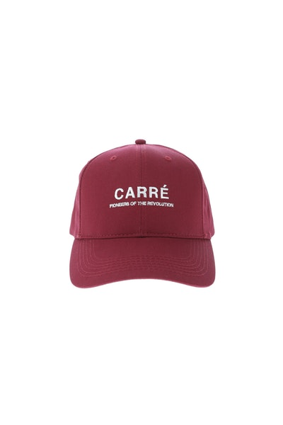 Carré Pioneers Low Pro Snapback Crimson