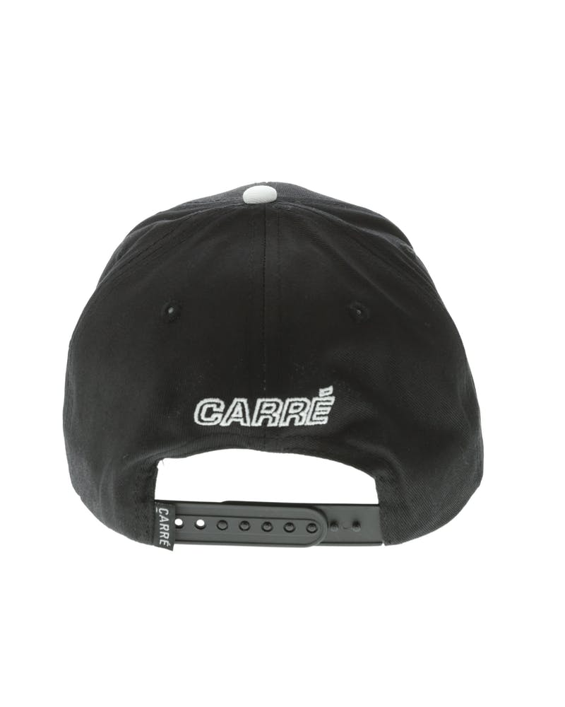 Carré Felin Snapback Black/White