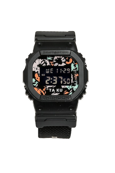 G-Shock X Ta-Ku Collaboration DW5600 Black/Multi-Coloured