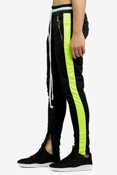 Lifted Anchors Jenner Trackpant Black/Lime