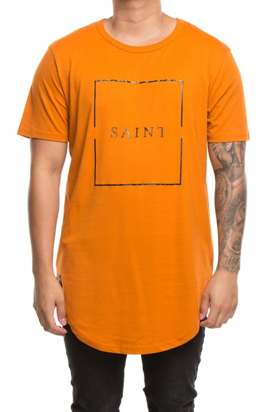 Saint Morta Divided El Duplo 2.0 SS Tee Mud Orange